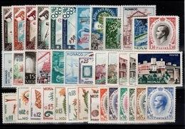 Monaco - Année Compléte 1960 N** Luxe Cote 90 Euros - Monaco