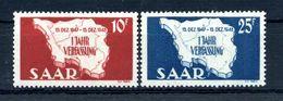 1948 SARRE SERIE COMPLETA MNH ** - 1947-56 Occupazione Alleata
