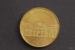 JETON MONNAIE DE PARIS HOTEL DE LA MONNAIE PARIS MEDAILLE COLLECTION NATIONALE  DOS SIMPLE SANS DATE - Monnaie De Paris