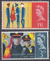 UK - GRAN BRETAGNA -  1965 - Serie Completa Nuova MNH: Yvert 401/402, Due Valori. - 1952-.... (Elisabetta II)