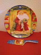 """Assiette à Tarte Céramique """"INVICTA"""" Avec Spatule (30cm) - Plates"""