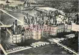 CPM En Touraine Les Chateaux De La Loire Chambord (l Et Ch) Vue Aerienne 2387 Le Chateau Facade Nord - Chambord