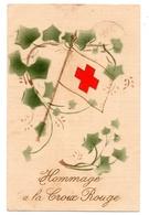 Hommage Croix Rouge Hopital Militaire  N°7 Laignes 21 - Guerre 1914-18