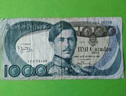 1000 Escudos 1982 - Portogallo