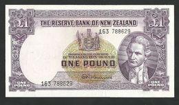 NEW ZEALAND 1 ONE POUND 1956 PICK 159c XF- AU - Nieuw-Zeeland