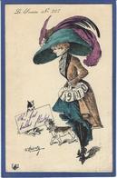 CPA ROBERTY Satirique Caricature Mode Chapeau Type Sager écrite 1910 - Illustrators & Photographers