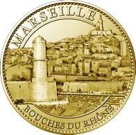 13 MARSEILLE ENTRÉE DU PORT MÉDAILLE ARTHUS BERTRAND 2010 JETON MEDALS TOKENS COINS - 2010