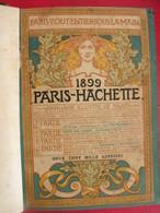 Annuaire Illustré De Paris. 1899 Paris-hachette. Bien Relié - Books, Magazines, Comics