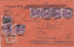 Wertbrief 1920 - Deutschland