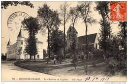 77 - BOISSISE-LE-ROI - Le Chateau Et L'église - Francia