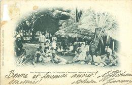 Une Récréation Sous Les Cocotiers - BAGAMOYO (Afrique Orientale) (animée) - Tanzania