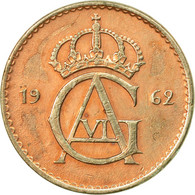 Monnaie, Suède, Gustaf VI, 10 Öre, 1962, TTB, Copper-nickel, KM:835 - Suède