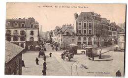 Tram Tramway 56 Lorient Rue Du Morbihan Et Rue Victor Massé Boutique Grande Epicerie Nouvelle - Tramways