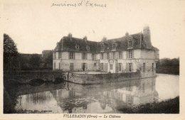 CPA - Environs D'EXMES (61) - VILLEBADIN - Aspect Du Château Dans Les Années 20 - Exmes
