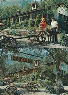 Osteria Livio. Limone Sul Garda. Italy.  2 Cards.  B-3210 - Hotels & Restaurants