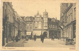 Sneek, Wijde Burgstraat   (anno 1918) - Sneek