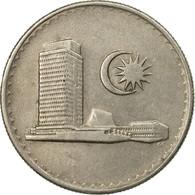 Monnaie, Malaysie, 20 Sen, 1980, Franklin Mint, TTB, Copper-nickel, KM:4 - Malaysie
