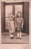 CPA CARTE PHOTO Mode Enfants 1940 - Mode