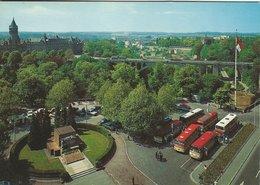 Luxembourg. Palace De La Constitution. Old Autos.  B-3211 - Luxemburg - Town