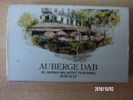 Boite D'allumettes Vide - Auberge DAB Paris - Boites D'allumettes
