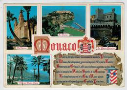 PRINCIPAUTE'  DE  MONACO    2  SCAN     (NUOVA) - Monaco