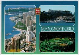 PRINCIPAUTE'  DE  MONACO   MONTECARLO      2  SCAN     (VIAGGIATA) - Monaco