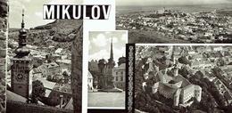 MIKULOV : Multivues - 22 X 10,5 Cm - Tschechische Republik