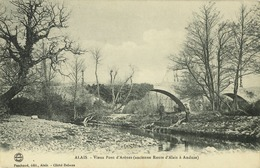 30 - Alès - Alais -  Vieux Pont D' Arènes (Ancienne Route D' Alais à Anduze) - Alès