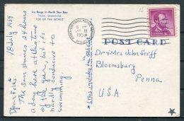 1959 Greenland Thule Postcard APO 23 Army Air Force Postal Service - Bloomsbury Usa - Greenland