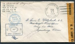 1944 Greenland US Army Postal Sevice APO 859 Censor Cover -  Army Air Base, Dyersburg, Tenn. USA - Brieven En Documenten