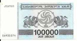 GEORGIE 100000 LARIS 1994 UNC P 48A - Géorgie