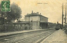 42 - Lorette - La Gare - Frankrijk