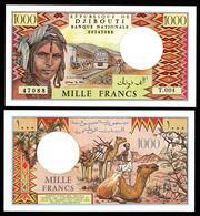 DJIBOUTI : 1000 Franchi - 2005 - P37e - UNC - Banconote
