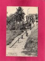 62 Pas De Calais, Monteuil-sur-Mer, L'Escalier, Animée, 1908, (Fiabaut) - Montreuil