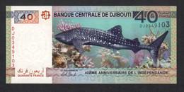 DJIBOUTI : 40 Franchi - 2017 - Commemorative - UNC - Altri – Africa