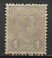 LUXEMBOURG      -     1895 .    Y&T N° 69 * - 1895 Adolphe Right-hand Side