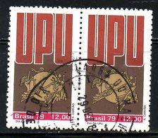 BRESIL. N°1385 Oblitéré De 1979. UPU. - U.P.U.