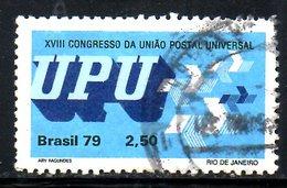 BRESIL. N°1382 Oblitéré De 1979. UPU. - U.P.U.