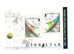Gibilterra - 1992 - Regata Intorno Al Mondo - 2 Valori - Nuovi - Vedi Foto - (FDC12254) - Gibilterra