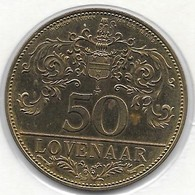 50 LOVENAAR 1982  LOUVAIN - Gemeentepenningen