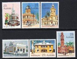 Australia 1982 Historic Post Offices Set Of 6, MNH, SG 849/55 - 1980-89 Elizabeth II