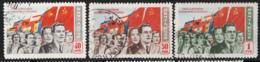 Russia 1950 Unif. 1474/76 Usati/Used VF - 1923-1991 URSS