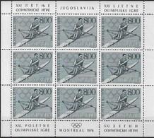 YUGOSLAVIA 1976 OLYMPIC GAMES Montreal - Zomer 1976: Montreal