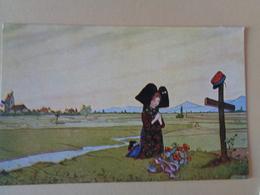 Hansi - Prière De L'Alsace - Cartes Humoristiques