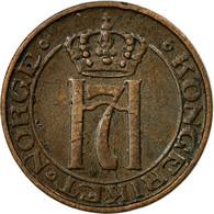 Monnaie, Norvège, Haakon VII, Ore, 1938, TB+, Bronze, KM:367 - Norvège