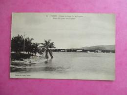 CPA TAHITI POINTE DE MOTU UTA ET PAPEETE - French Polynesia