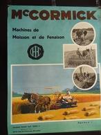Mc Cormick Machines De Moisson Et De Fenaison (Signée Dörfel) (publicité,agriculture) - Affiches