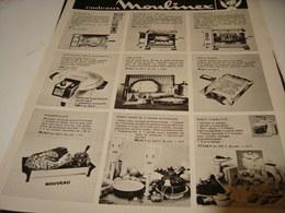 ANCIENNE PUBLICITE FETE DES MERE MOULINEX 1969 - Publicidad
