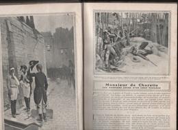 LECTURES POUR TOUS 1908 - CHARETTE VENDEE - POLLUTION PARIS - CHEMIN DE FER P.L.M. - AVIATION - TURQUIE - AUTOMOBILE - Altri