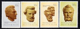 Australia 1983 Explorers Set Of 4, MNH, SG 898/901 - 1980-89 Elizabeth II